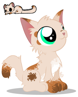 Alice the Kitten by equinepalette