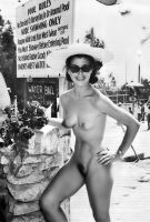 Greetings From The Nudist Camp, 1960's by NJDVINTAGE