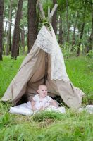 Tent Baby 2 by Reverie-digitalart
