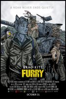 Furry spoof movie poster DerangedMeowMeow 2014 by DerangedMeowMeow