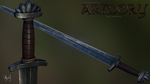 Hvergelmir's Armory: Steel Nord sword by lthot