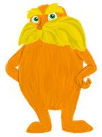 The Lorax by ShinyStrawberry