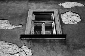 BW window by Ketike