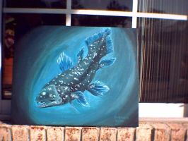 Coelacanth of the Deep by Chewilicious