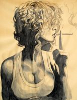 Smoking by T0MMYGUNN