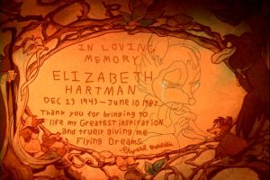 In Memory of Elizabeth Hartman by Molandria