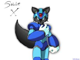 Mega Sable X by SableSilverClaw