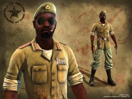 African Mercenary by guilliaugusto