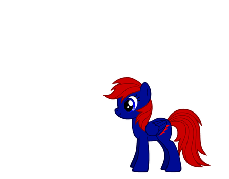 myPony redbolt blue and red by skywarp24