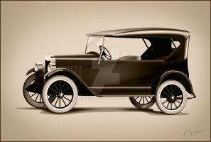 1911 First Chevrolet Car by mimranad