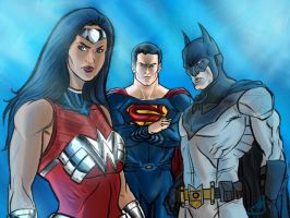 Man of Steel Sequel Trinity by CJ-Williams
