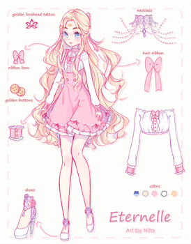 CM | Eternelle Ref. Sheet by Nita--Chan