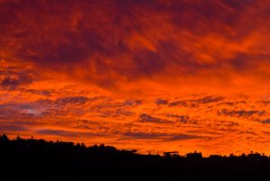 Bloody Sky by RomanPhotog