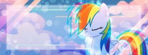 Sleepy Dashie - Facebook Cover by KibbieTheGreat