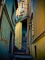 Which stairway? Colour Version by diegokman