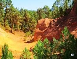 Ocher. Stepping on Color. Roussillon by Nastuescha