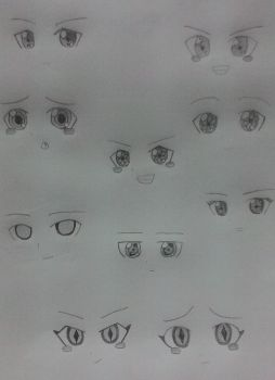 [Touhou Project] Touhou Pattern Eyes ~ EoSD by Riggell