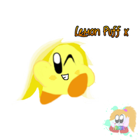 OC: Lemon Puff by PoyoPoptart