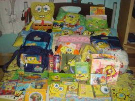 My SpongeBob Collection by Allenare