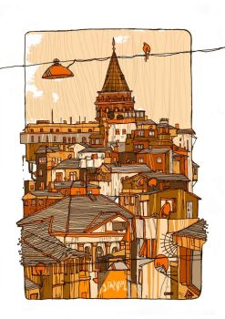istanbulcity by o8connell