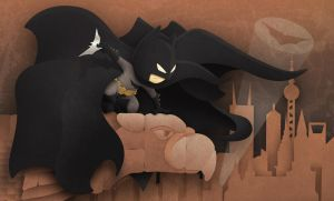 THE BAT DETECTIVE par S.P.Stock by FROG-and-TOAD