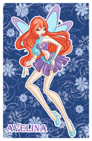 Com: Avelina fairy by LaminaNati
