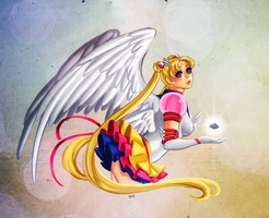 Eternal Sailor Moon by KittyCatKissu