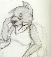ID attempt 3- Pensive by funaaba