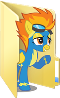 Custom Spitfire folder icon by Blues27Xx