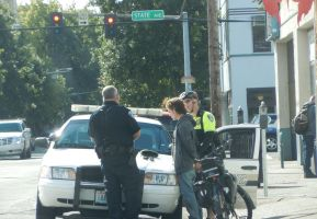 Another Downtown Arrest by mebyrne57