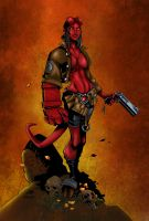 Hellgirl Colored by likwidlead