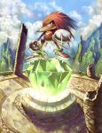 Knuckles - The Guardian by Wilustra