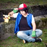 ASH KETCHUM : Wanna be the very best by AxelTakahashiVIII
