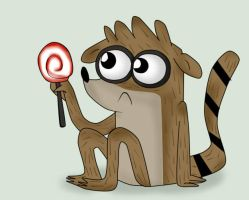 Rigby lol by ZThunderZ