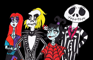 Halloween: Switch Between Beetlejuice And NBC by wolfie425