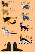 Massive Adoptables Sheet Auctions - CLOSED by Karijn-s-Basement