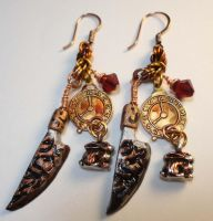 Alice Madness Increases Earrings by Krystalchains