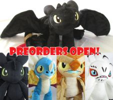 HTTYD pre-orders open! closes tonight! by MagnaStorm