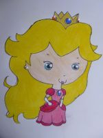Princess Peach by JellyLoveHeart