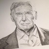 Harrison Ford by PatrickRyant