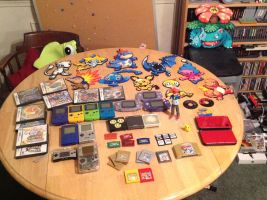 Pokemon Collection by dylrocks95
