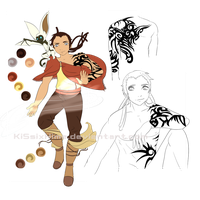 Thaye - Legend of Korra OC by KiSsixHime