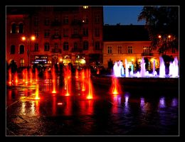 Magica - Fountain In Cracow 1 by skarzynscy