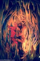 Gay Love in Dante's Inferno by Felixdeon
