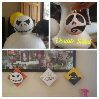 My nightmare before christmas creations. by MzHunni