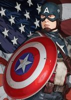 Captain America by MollyD