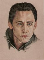 Loki Laufeyson - Tom Hiddleston by TheDoThatGirl