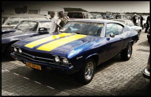 1969 Chevelle Malibu by compaan-art
