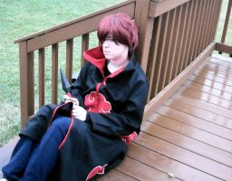 Why Is It This Way-Sasori Cos by cloudsofsand