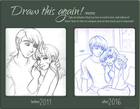 Draw This Again - Gil and Ellen by irishgirl982